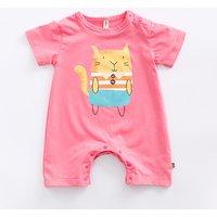 Lovely Bunny Short-sleeve Bodysuit for Baby