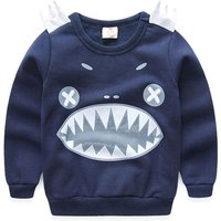 Funny Monster Long-sleeve Pullover for Baby and Toddler Boys