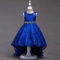 Gorgeous Diamond Decor Sleeveless High-low Sleeveless Dress