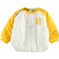 Warm Number Embroidery Raglan Pullover for Baby