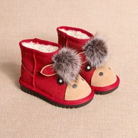 Adorable Donkey Snow Boots for Kids