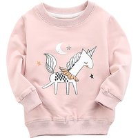 Fashionable Horse Print Sweatshirt for Baby