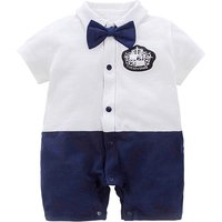 Little Gentleman Cotton Romper for Baby and Infant