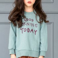 Cute Letter Print Sweatshirt for Girl