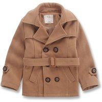 Boy's Handsome Double-breasted Woolen Coat