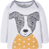 Baby and Toddler Boy's Cute Puppy Long Sleeve Pullover