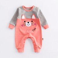 Adorable Bear Graphic Jumpsuit for Babies