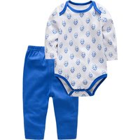 Cute Bee Pattern Bodysuit and Pants Set for Baby