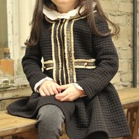 Cute Zip-up Dress in Black for Baby and Toddler Girl