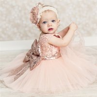 Cute Lace Embroidery Pearl Doll Short-sleeve Dress for Baby and Toddler Girls
