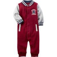 Fashion Baseball Long-sleeve Jumpsuit