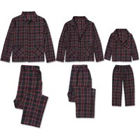 Classic Plaid Family Matching Pajamas Set