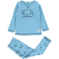 Cool Cartoon Print Top and Pants Set for Baby and Toddler Boy