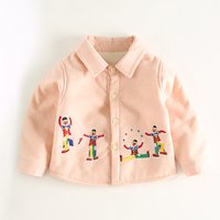 Colorful Embroidered Clown Coat for Baby
