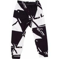 Trendy Monochrome Elastic Waist Cotton Pants for Baby