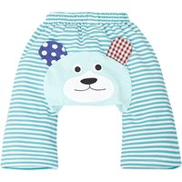 Baby's Cute Bear Blue Striped Cotton PP Pants/Bottom