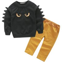 Baby & Toddler Boy's Monster Long-Sleeve Top & Pants Set (2pc-set)