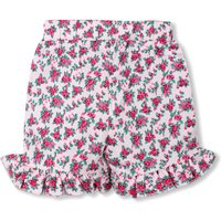 Beautiful Floral Ruffled Shorts for Girls