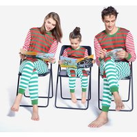 2-piece Cool Striped Top and Pants Family Matching Set