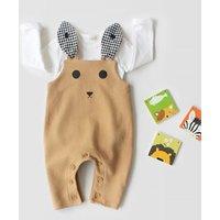 Infants/Baby's Adorable Rabbit Ears Suspender Pants