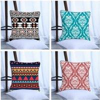 Stylish Boho Print Cushion Pillowcase