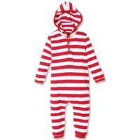 Classic Stripes Trendy  Stylish  One piece  in Red