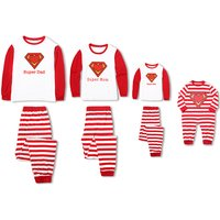 Super Cool Striped Family Matching Pj's