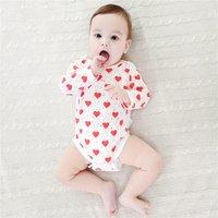 Heart Printed Bodysuit