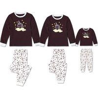 2-piece Unicorn Long Sleeve Matching Pajamas Set