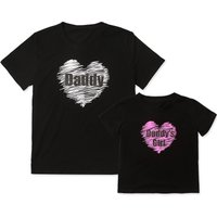 Daddy and Daddy's Girl Father's Day Matching T-shirt