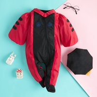 Crawling Philosophy Costume Cotton Jumpsuit with Hat for Baby