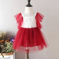 Chic Lace Tulle Dress Party Dress for Toddler Girl