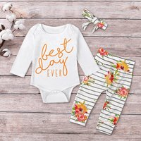 3-piece Best Day Ever Floral Set