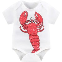 Lobster  Bodysuit in White