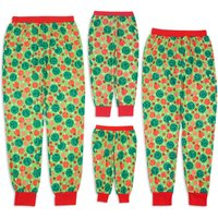 Family Matching Colorful Polka Dots Festive Pajama Pants