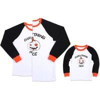 Family Matching Halloween Shirt in White
