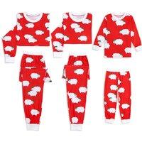 Super Cute Sheep Pattern Family Matching Pajamas