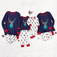 Lovely Deer Print Christmas Matching Pajamas