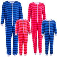 Comfy Family Matching Striped Onesie Pajamas