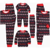 Full of Santa Christmas Pajamas for Family