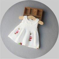 Socks Applique Sleeveless Dress