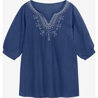 Maternity Embroidered Loose Shirt