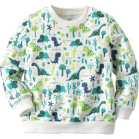Forest Dinosaur Printed Pullover