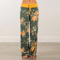 Comfy Floral Matching Yoga Pants