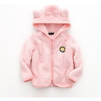 Comfy Dog Decor Plush Hooded Coat for Toddler Boy and Boy