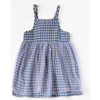 Sweet Plaid Tulle Splice Sleeveless Adjustable Strap Dress for Girls