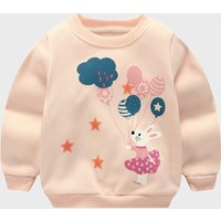 Balloon Rabbit Fleece Lined Pullover