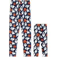 Mommy and Me Halloween Printed Matching Leggings