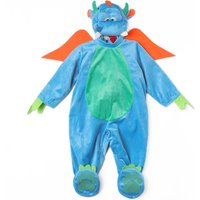 4 Pcs Dragon Costumes in Dark Green