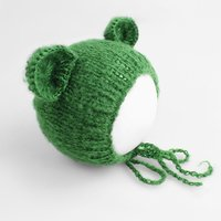 1 Pc Newborn Baby Cat Ears Knit Hat